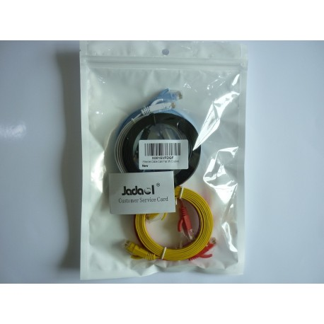 Jadaol-Cat 6 Ethernet Cable 5ft 5 Color – (1.5 Meters)