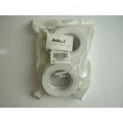 Jadaol-Cat 6 Ethernet Cable 10ft White 10 Pack – (3 Meters)